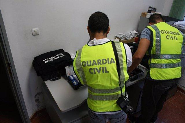 Registro de la Guardia Civil