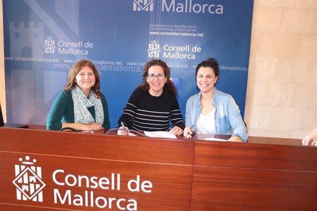 L'IMAS signa amb les entitats de menors els concerts socials per valor de 2 mili