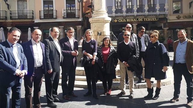 Sobre Presentación Del Candidato Del Par A Alcaldía De Teruel