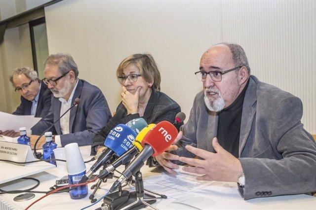Presentació de la Mostra de Cinema Llatinoameric de Catalunya