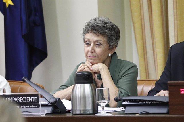 Comparecencia en el Congreso de la Administradora Única de RTVE, Rosa María Mate