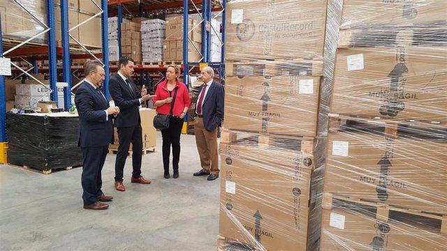 Decoexsa triplica su capacidad logística con sus nuevas instalaciones en Plaza