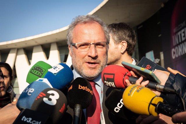 El director general de Fira de Barcelona, Constantí Serrallonga