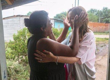 """El polémico video de la """"sorpresa"""" de la gobernadora de Buenos Aires"""