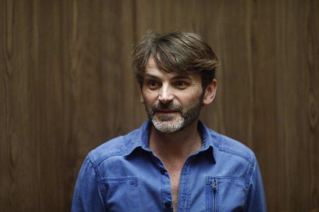 Fernando Tejero en la presentación de la obra de teatro La cantante calva