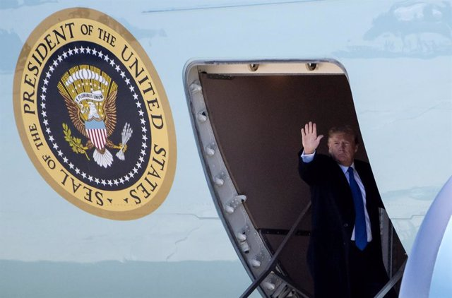 President Trump departs for Summit with Kim Jong Un
