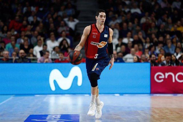 Basket: Liga Endesa - Real Madrid v Baskonia