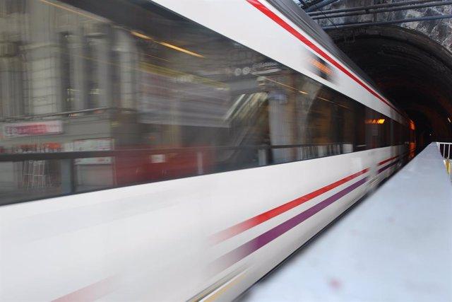 Tren, trens de rodalies de Renfe a Madrid