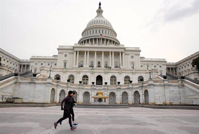 Edificio del Capitolio, sede del Congreso de Estados Unidos