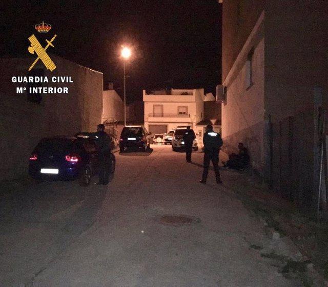 Guardia Civil en Torrejoncillo