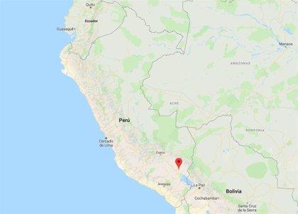 Registrado un terremoto de magnitud 7 en la zona sureste de Perú