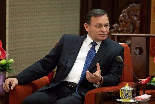 Néstor Popolizio, ministro de Exteriores de Perú