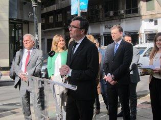 El alcalde de Murcia, José Ballesta en Alfonso X d