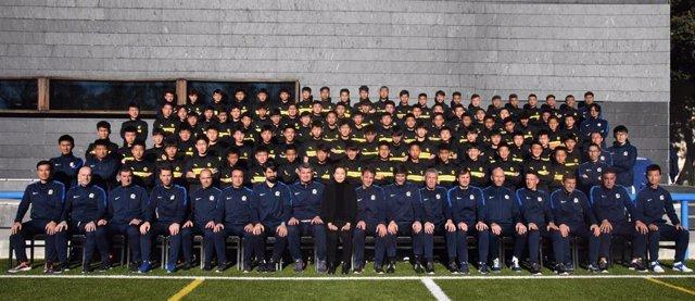 Evergrande, la escuela de talentos del fútbol chino en España