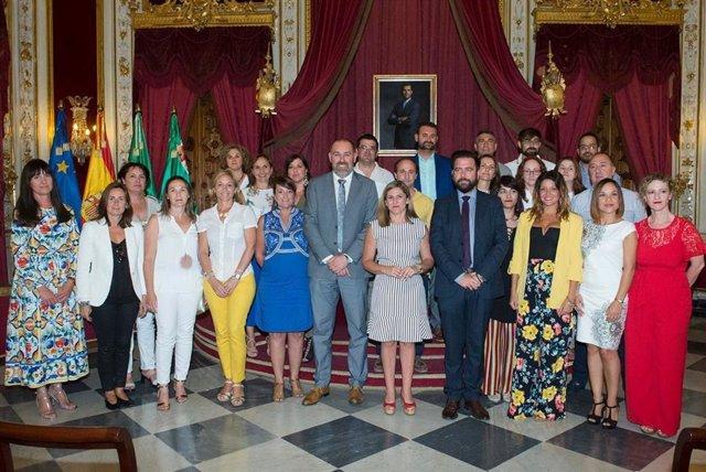 Toma de posesión empleados Diputación de Cádiz