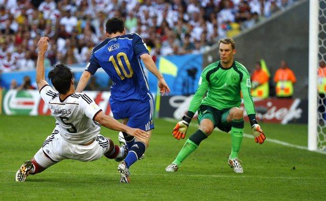 Alemania y Argentina se van a la prórroga