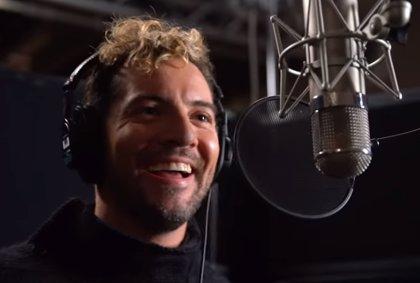 David Bisbal estrena Tú eres la magia, épico tema principal de El parque mágico