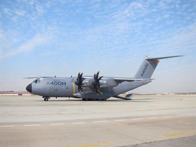 Prototipo Del A400M En La Base Aérea De Torrejón De Ardoz (Madrid)