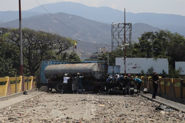 Clashes on the border between Colombia and Venezuela