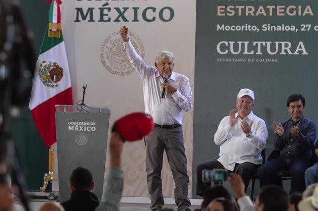 El presdiente de México, Andrés Manuel López Obrador