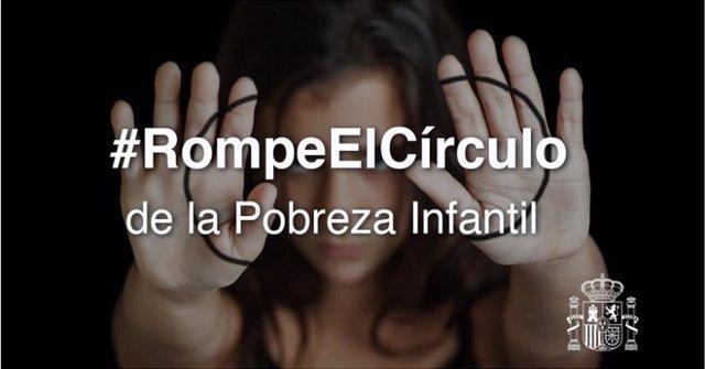 El Gobierno presenta la campaña '#RompeElCírculo' para concienciar sobre la pobr