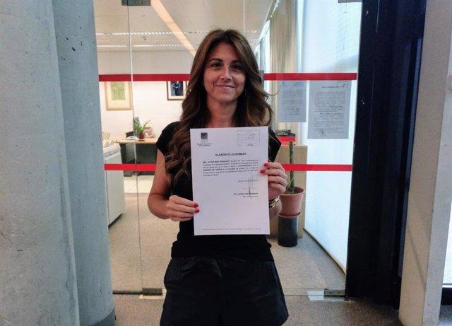 Portavoz adjunta de Cs en la Asamblea de Madrid, Esther Ruiz