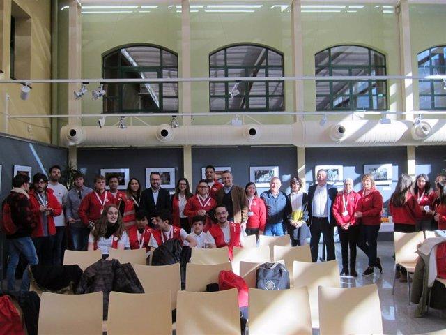 """Alrededor de 60 voluntarios de Cruz Roja se reúnen en Logroño para """"analizar la"""