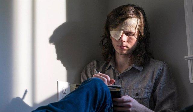 The Walking Dead revela, al fin, lo que Carl escribió a Enid