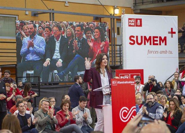 Acto de presentación de los candidatos socialistas a las alcaldías de municipios