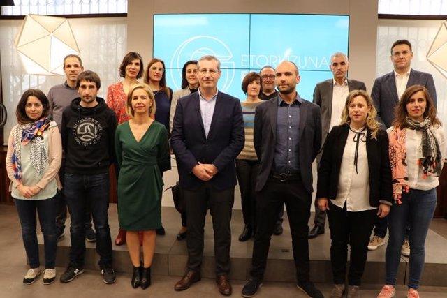 Red Erantzunkide de Gipuzkoa a favor de la igualdad alcanza ya a 6.592 trabajado