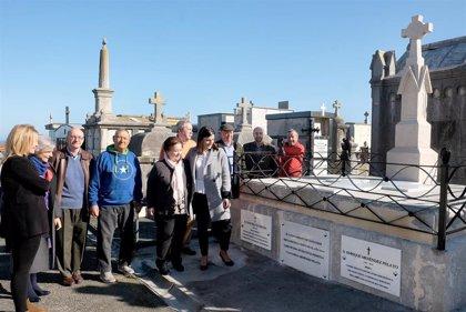 Finalizada la restauración del panteón de la familia Menéndez Pelayo en Ciriego