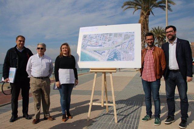 El Consell reconvertirá en vía urbana la autopista de Llevant en su entrada a Pa