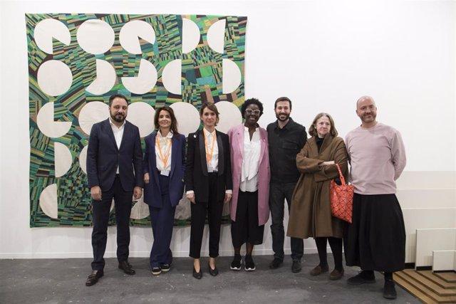 [Grupocultura] Nota De Prensa Y Fotos: La Comunidad Premia En Arco Las Obras De