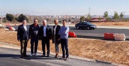 """Ceniceros asegura que la mejora de la LR-134 en Calahorra """"aumentará la seguridad vial y dará mayor fluidez al tráfico"""""""