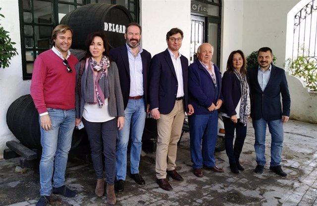 El vicesecretario de Organización, Electoral y Formación del PP-A, Toni Martín