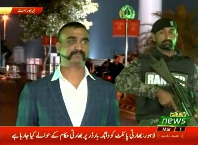 El piloto indio capturado por Pakistán Abhinandan