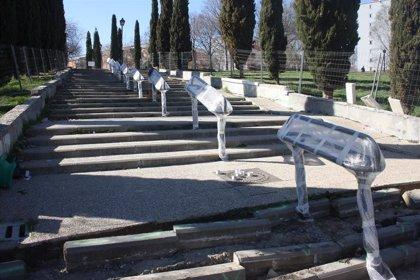 Arrancan las obras de regeneración del parque de Pradolongo, en el distrito de Usera