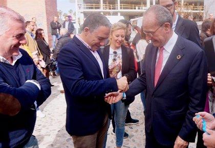 """Bendodo asegura que la Junta """"ya trabaja"""" en mejorar los accesos al PTA y activará un plan en los próximos meses"""