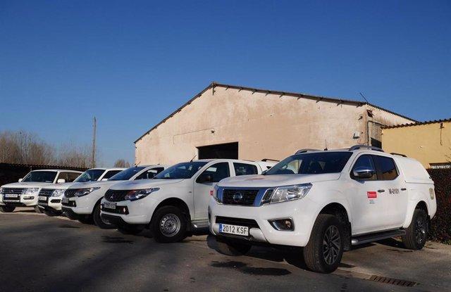 El guarderío de Medio Ambiente de Navarra estrena 12 vehículos