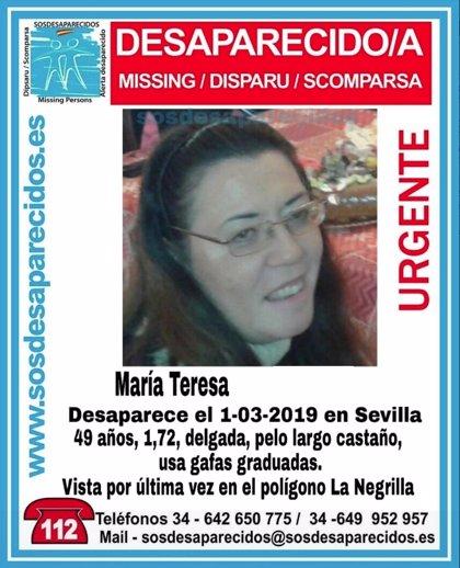 Localizada en buen estado la mujer desaparecida desde el viernes en Sevilla