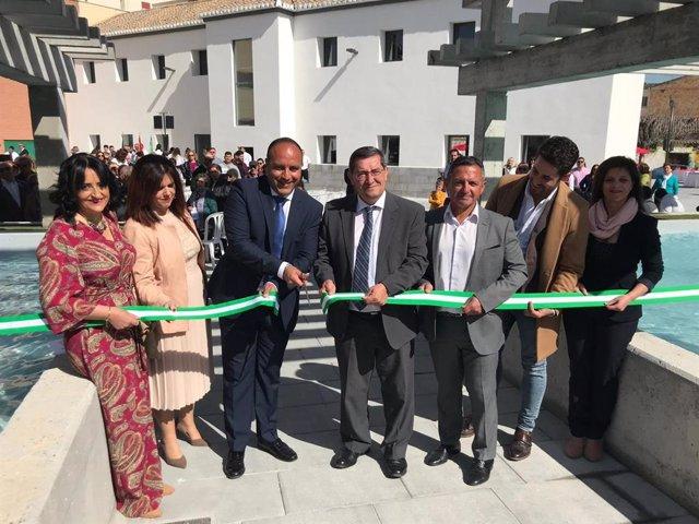 Granada.- Diputación completa la renovación integral del casco urbano de Otura y
