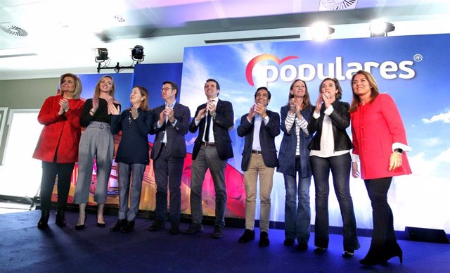 Acto de clausura de la convención de Bienestar Social del PP en Ferrol (Galicia)