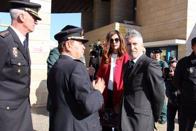 Marlaska evita polemizar con Gobierno de Melilla la retirada de la concertina: Q