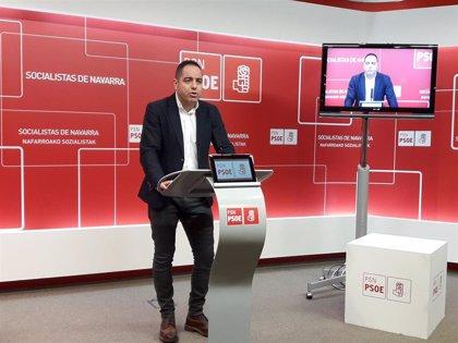 """PSN afirma que UPN """"carece de proyecto político para Navarra"""" tras el acuerdo para ir con el PP a las elecciones"""