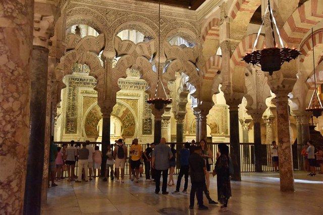 Interior de la Mesquita-Catedral de Córdoba