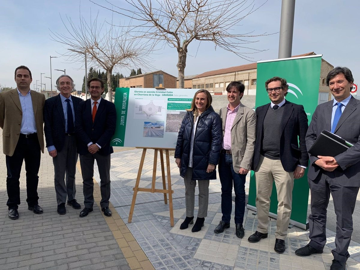 La Junta Licita La Obra De Una Nueva Glorieta En Churriana De La Vega Granada