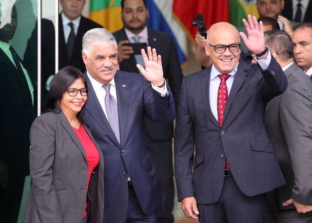 Reunión entre el Gobierno venezolano y la oposición en República Dominicana