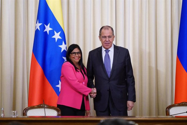 Vice President of Venezuela in Moscow