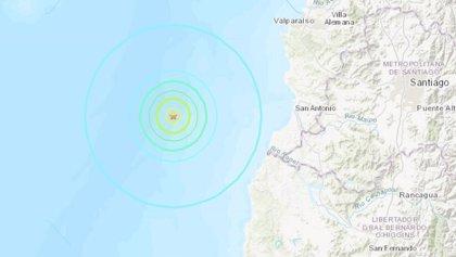 Un sismo de 5,5 grados sacude a Chile