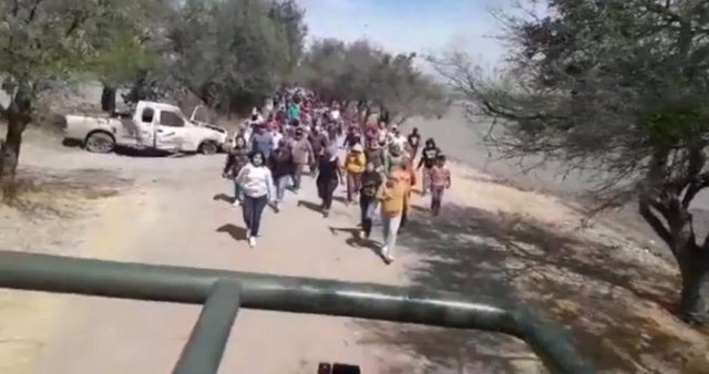 Santa Rosa de Lima: el pueblo mexicano que impide la entrada del Ejército para d
